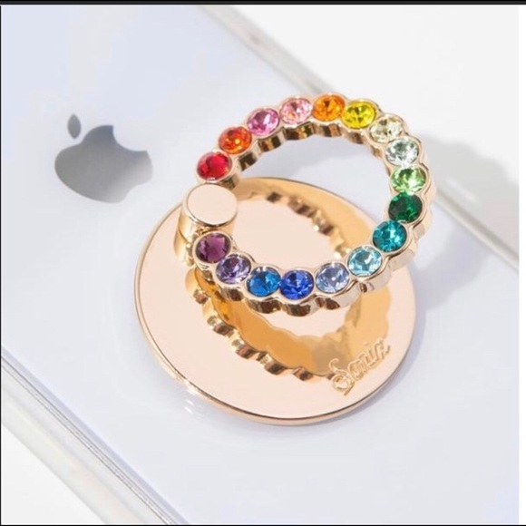 Sonic Multi Gemstone Phone Ring